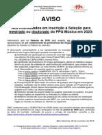 Aviso-prova-língua-estrangeira-2020