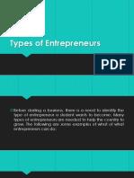 Types of Entrepreneurs 2