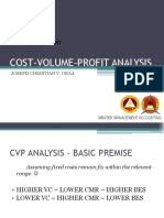 COST-VOLUME-PROFIT-ANALYSIS