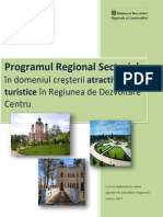 Program Regional Sectorial Turism