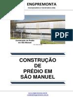 Construção de Prédio Em São Manuel