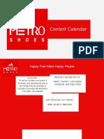 Metro Shoes_Content Calendar