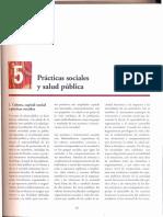Capitulo 5 Practicas Sociales Salud Pública
