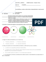 seperacion modelos atomicos