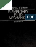 Elementary Fluid Mechanics - Vennard, John K. (John King)