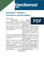 API 1. D. Bancario.