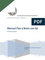 Manual Flex y Bison Con Qt