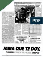 Crónica final de la Copa del Rey 1987