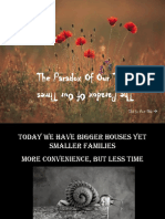 1The Paradox of Our Times.ppt