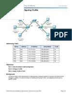262888960-3-2-1-7-Packet-Tracer-Configuring-VLANs-Instructions-pdf-конвертирован