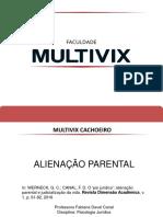 Psicologia Jurídica - Alienação Parental