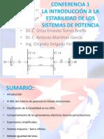 Conferencia 1. Introducción a la Estabilidad en los Sistemas de Potencia.pptx