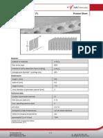 1.0_PS Ceramic Flat Membrane (T)