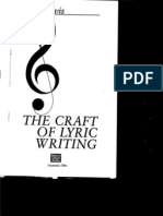 Sheila Davis- Craft of Lyric Writing