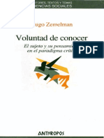 Hugo Zemelman - Voluntad de conocer (2005, Anthropos).pdf