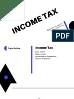 INCOME TAX (TRAIN LAW)