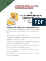 Distorsiones Cognitivas Homer Simpson