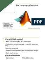 ME1-Matlab1-2009