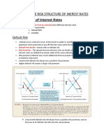 CHAPTER 6 ; THE RISK STTRUCTURE OF Interest Rates
