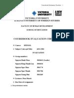 FINAL DRAFT_Coursebook Evaluation
