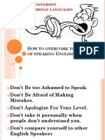 Speaking Strategy 1