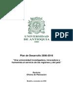 Universidad de Antioquia Plan_de_Desarrollo_2006-2016(2)