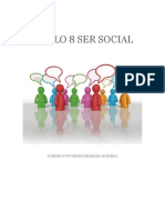 MODULO 8 SER SOCIAL