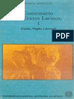 Andueza Maria - Comentario De Textos Latinos 1 (Catulo Virgilio Y Juvenal).pdf