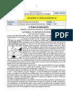 Guía Filosofía 10.PERIODO  1 2020