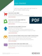 sdma-training-checklist