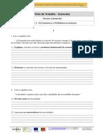 Ficha de Tabalho 1-Economia
