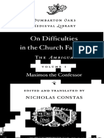(Dumberton Oaks Medieval Library) Maximus the Confessor, Nicholas Constas - On the Difficulties in the Church Fathers_ The Ambigua. I-Harvard University Press (2014).pdf
