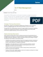 Gartner IT Risk Management Sample