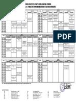 JADWAL Perkuliahan Semester GENAP Fakultas Ekonomi 19-20