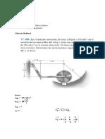 Dinámica, aceleracion absoluta y relativa en el movimiento plano general.
