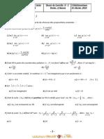 Devoir de Contrôle N°2 - Math - 3ème Mathématiques (2012-2013) Mr loukil Mohamed