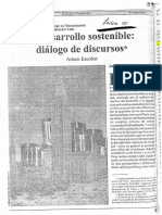 A. Escobar - Dialogo de discursos
