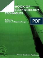 Handbook of Plant Ecophysiology Techniques (2001)