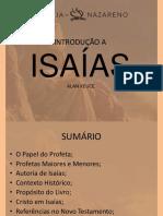LIVRO DE ISAIAS - INTRODUÇÃO