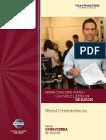 Despre conducere - partea 1 - Calitatile liderilor de succes - Ghidul coordonatorului (final)