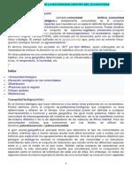 IMPORTANCIA DE LA BIOCENOSIS DENTRO DEL ECOSISTEMA