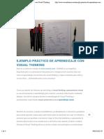 visualizamos | Ejemplo Práctico de Aprendizaje con Visual Thinking