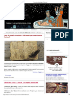 Tarocchi e Astrologia_ Talismani prime istruzioi rosacroce.pdf