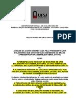 Pré-projeto especialização análise do discurso.doc