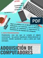 adquisición de computadores. Admon y logistica