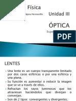 3 OPTICA - LENTES