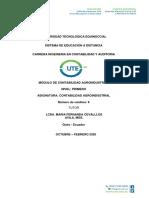Modulo de Contabilidad Agroindustrial