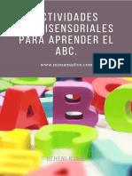 MIMAMADICE.com Actividades Multisensoriales Para Aprender El ABC