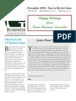 GBA Newsletter - Dec