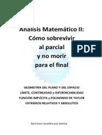 AMII - Analisis Matematico II -  como sobrevivir al parcial y no morir para el final - Proyecto Ingenieria.pdf